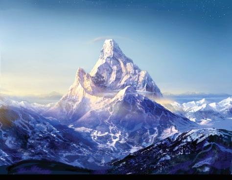 """""""I'm Goal Mountain. Eat me."""""""