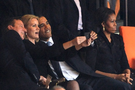 Candidate for Selfies at Funerals?