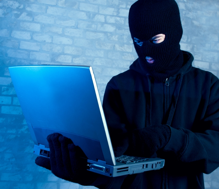 Pictured: A hacker, or really anonymous online surfing.